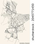detailed navigation urban...   Shutterstock .eps vector #2045771450