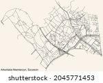 detailed navigation urban...   Shutterstock .eps vector #2045771453