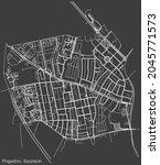 detailed negative navigation...   Shutterstock .eps vector #2045771573
