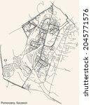 detailed navigation urban...   Shutterstock .eps vector #2045771576