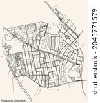 detailed navigation urban...   Shutterstock .eps vector #2045771579