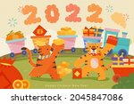 2022 Cny Greeting Card. Two...