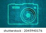 illustration of photo camera...