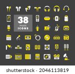 multimedia devices and symbols...