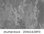 liquify marble abstract black...   Shutterstock . vector #2046162893