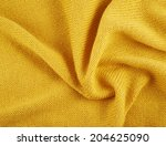fragment of a wrinkled knitted... | Shutterstock . vector #204625090
