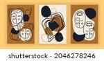 abstract aesthetic collection.... | Shutterstock .eps vector #2046278246