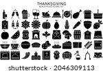 thanksgiving day black filled...