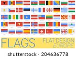 flat flags europe 2014