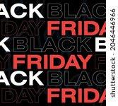 black friday banner. vector... | Shutterstock .eps vector #2046446966