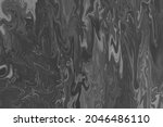 liquify marble abstract black...   Shutterstock . vector #2046486110