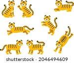 cartoon illustration set of... | Shutterstock .eps vector #2046494609
