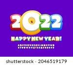vector playful greeting card... | Shutterstock .eps vector #2046519179