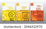 template layout design ...   Shutterstock .eps vector #2046532970