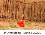 Women And Landscape Of Soil...