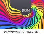 colorful arrows that extend in...   Shutterstock .eps vector #2046672320