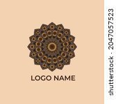 vector set of logo design... | Shutterstock .eps vector #2047057523