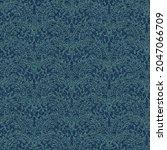 ornate paisley seamless pattern ... | Shutterstock .eps vector #2047066709