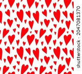cute seamless pattern with... | Shutterstock .eps vector #2047081370