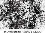 grunge black and white. chaotic ...   Shutterstock .eps vector #2047143200