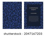 modern universal artistic... | Shutterstock .eps vector #2047167203