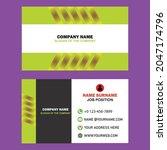 modern  creative  corporate... | Shutterstock .eps vector #2047174796