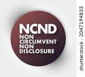ncnd   non circumvent and non... | Shutterstock .eps vector #2047194833