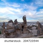 Cave Houses Of Cappadocia And...