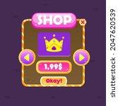 game ui window shop crown price ...