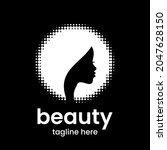 beauty emblem template.... | Shutterstock .eps vector #2047628150