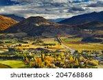 mountain landscape  near... | Shutterstock . vector #204768868