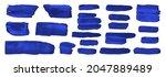 watercolor vector brushes....   Shutterstock .eps vector #2047889489