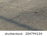 old road background   surface... | Shutterstock . vector #204794134