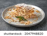 Napoleon Cake. Dessert. Ready...