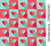 abstract seamless pattern.... | Shutterstock .eps vector #204820960