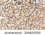 Closeup Of Gravel Stones...