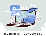 email marketing banner  ui....