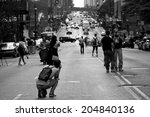new york city   july 11  2014 ... | Shutterstock . vector #204840136