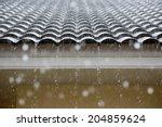 rain on the roof | Shutterstock . vector #204859624