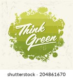 think green   creative eco...