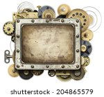 Stylized Mechanical Collage...