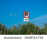 No Parking Sign For Boats At...