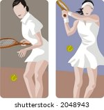 Sport Illustrations Series. A...