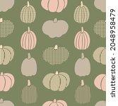 Pumpkin Seamless Pattern....
