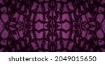 Seamless Animal Print. Purple...