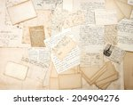Old Letters  Handwritings And...