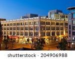 victoria  bc   circa july 2014  ... | Shutterstock . vector #204906988