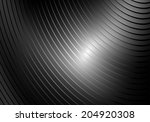 silver striped vector metallic... | Shutterstock .eps vector #204920308