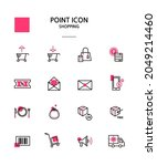 various point color icon... | Shutterstock .eps vector #2049214460