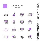 various point color icon... | Shutterstock .eps vector #2049214466